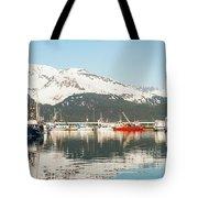 Port Of Seward Alaska  Tote Bag