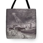 Port Of Tacoma Wa Waterfront Tote Bag
