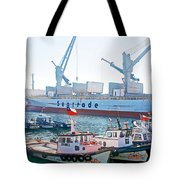Port Of Valpaparaiso-chile Tote Bag