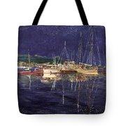 Marina Evening Reflections Tote Bag