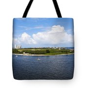 Port Roundabout Tote Bag
