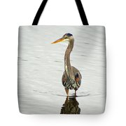 Port Townsend Blue Heron Tote Bag
