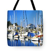 Port Townsend Harbor Tote Bag