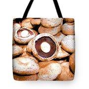 Portabello Mushrooms Tote Bag
