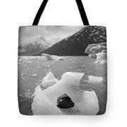 Portage Glacier, Ice Basket Tote Bag