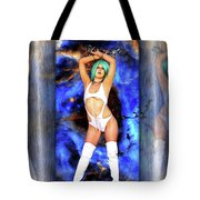 Portal Of Space Through Time Tote Bag