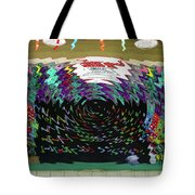 Portal To Another Dimension Tote Bag