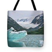 Porter Glacier Alaska  Tote Bag