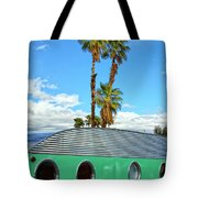 Portholes Palm Springs Tote Bag