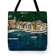Portifino Italy Tote Bag
