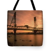 Portland Bridge Tote Bag