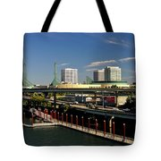 Portland East Bank Tote Bag