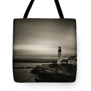Portland Head Light 3 Tote Bag by Brian Hale