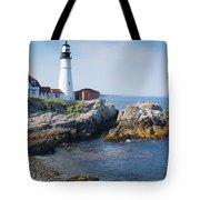 Portland Head Lighthouse Portland Me Tote Bag