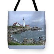 Portland Headlight, Maine Tote Bag