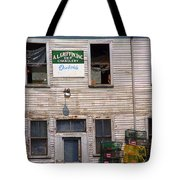 Portland Maine - Dockside Fishing Shack Tote Bag