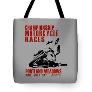 Portland Meadows Tote Bag