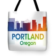 Portland Or Tote Bag