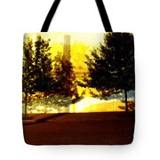 Portland Scenario In Three Chapters Tote Bag