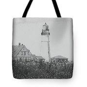 Portland Sketch Tote Bag