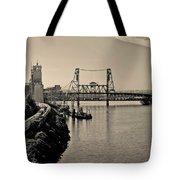 Portland Steel Bridge Tote Bag
