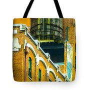 Portland Water Tower II Tote Bag