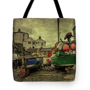 Portloe Boats  Tote Bag