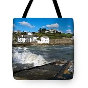 Portmellon In Winter Tote Bag