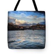 Porto And Vila Nova De Gaia River View Tote Bag