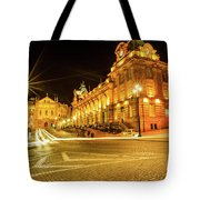 Porto City By Night Tote Bag