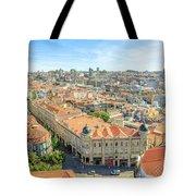 Porto Historic Center Aerial Tote Bag