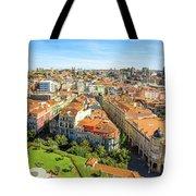 Porto Panorama Skyline Tote Bag