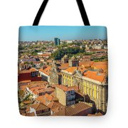 Porto Skyline Portugal Tote Bag
