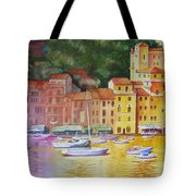 Portofino Afternoon Tote Bag