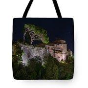 Portofino Bay By Night V - Notte Al Castello Tote Bag