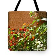 Portofino Flowers Tote Bag