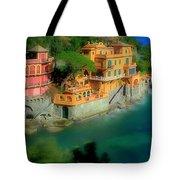 Portofino Park Bay Tote Bag
