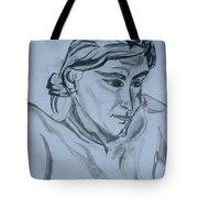 Portrait - Bienvenue A La Planete Rock Tote Bag