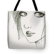 Portrait By Neha Tote Bag