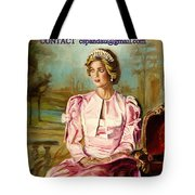 Portrait Commissions By Portrait Artist Carole Spandau Tote Bag