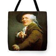 Portrait De L Artiste Sous Les Traits D Un Moqueur 1793 Tote Bag
