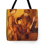 Portrait Group Of The Artists Family Tote Bag