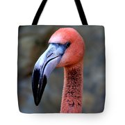 Portrait In Pink Tote Bag
