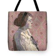 Portrait In Profile Tote Bag