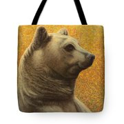 Portrait Of A Bear Tote Bag