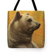 Portrait Of A Bear Tote Bag