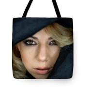 Portrait Of A Beautiful Woman Tote Bag