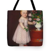 Portrait Of A Blond Tote Bag