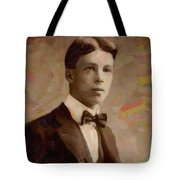 Portrait Of A Boy 16 Tote Bag