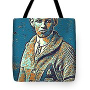 Portrait Of A Boy 24 By Adam Asar -  Asar Studios Tote Bag